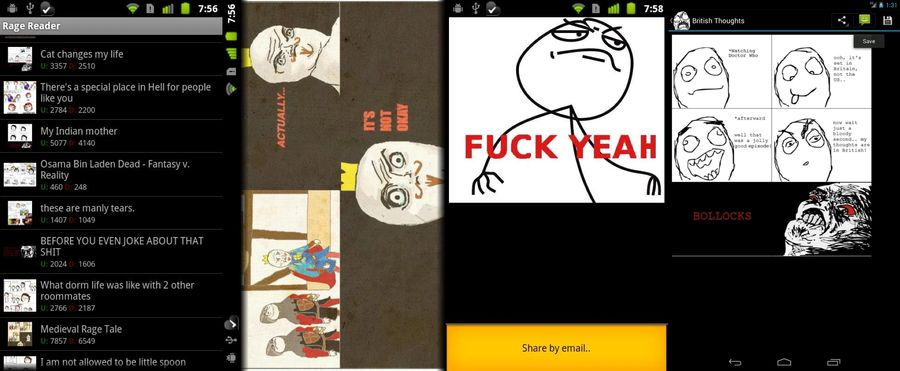 Rage Comics Reader-BEST COMIC MAKER APPS FOR ANDROID