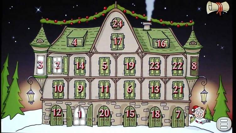 CHRISTMAS COUNTDOWN ELF STORY